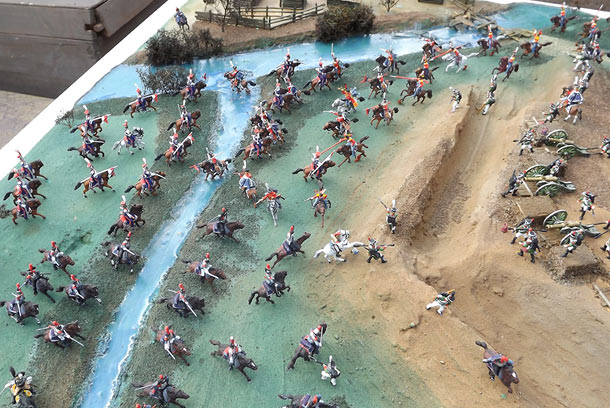 Dioramas and Vignettes: Selenginsk infantry regt. at the battle of Borodino