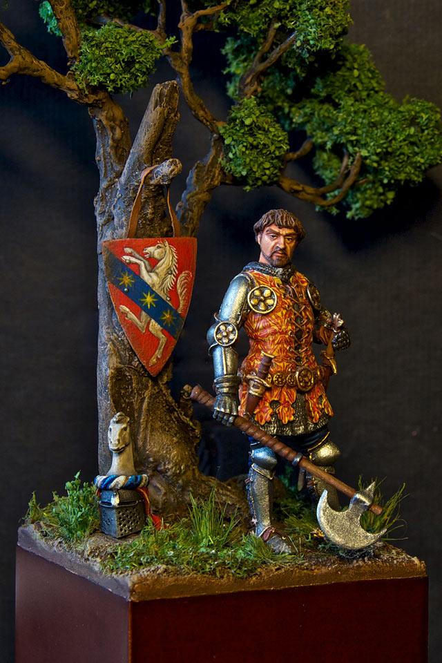 Figures: Italian knight, 14th cent., photo #1