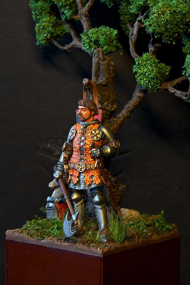 Figures: Italian knight, 14th cent., photo #2