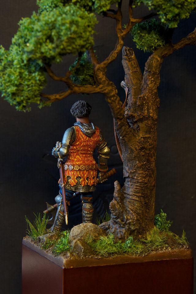 Figures: Italian knight, 14th cent., photo #3