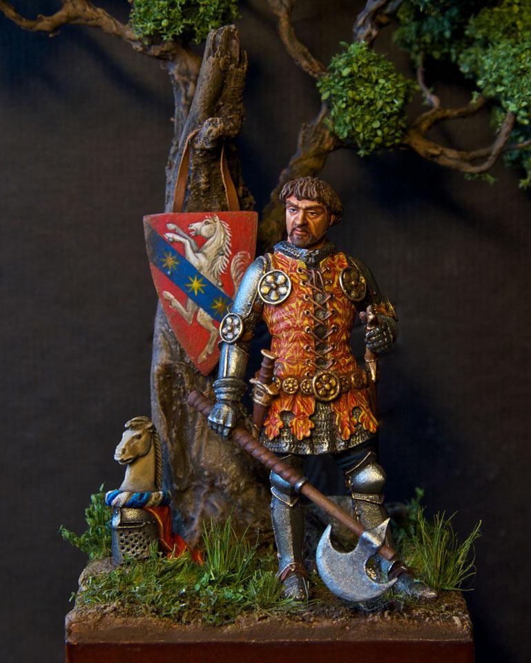 Figures: Italian knight, 14th cent., photo #5