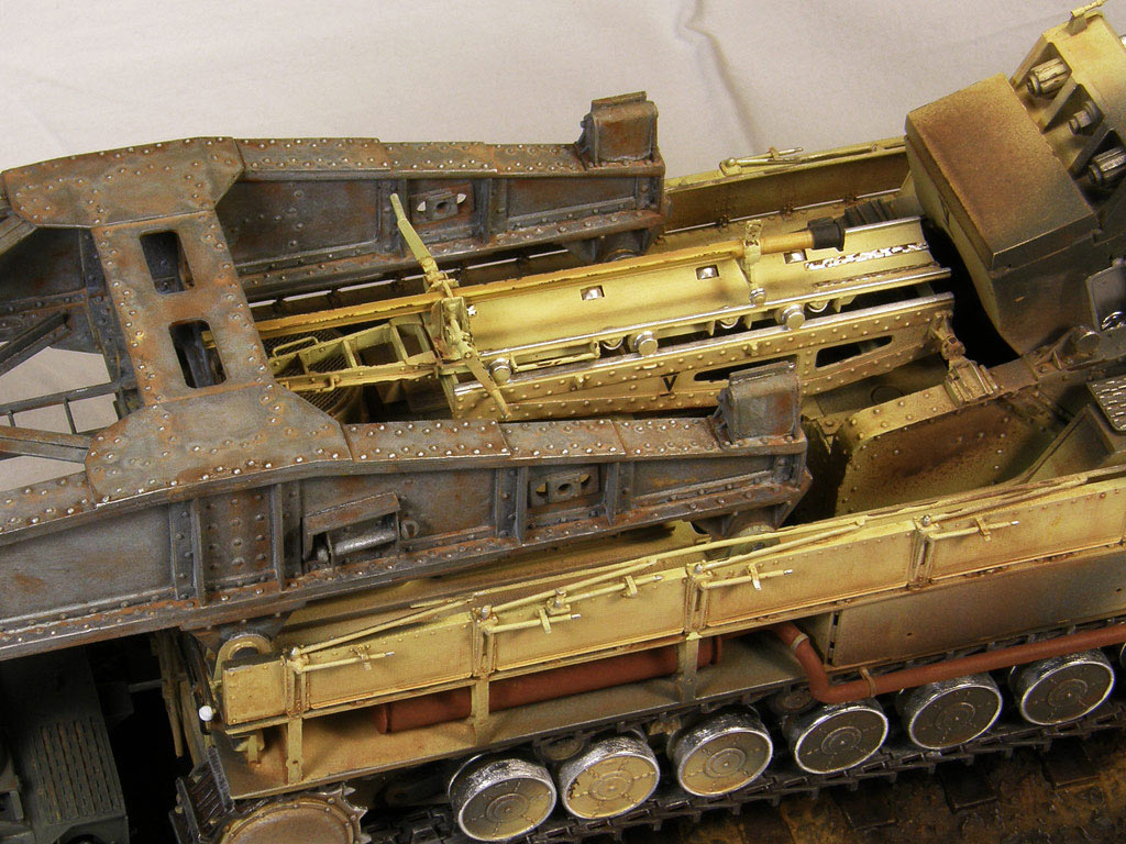 Dioramas and Vignettes: Karl-Gerät 041 on railway carrier, photo #19