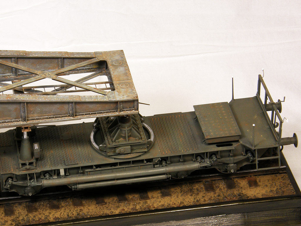 Dioramas and Vignettes: Karl-Gerät 041 on railway carrier, photo #8