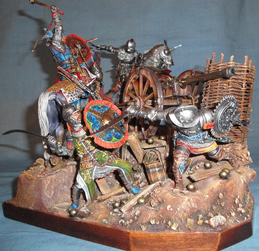 Dioramas and Vignettes: The Battle, 1501, photo #1