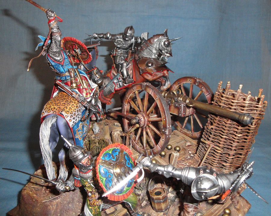 Dioramas and Vignettes: The Battle, 1501, photo #2