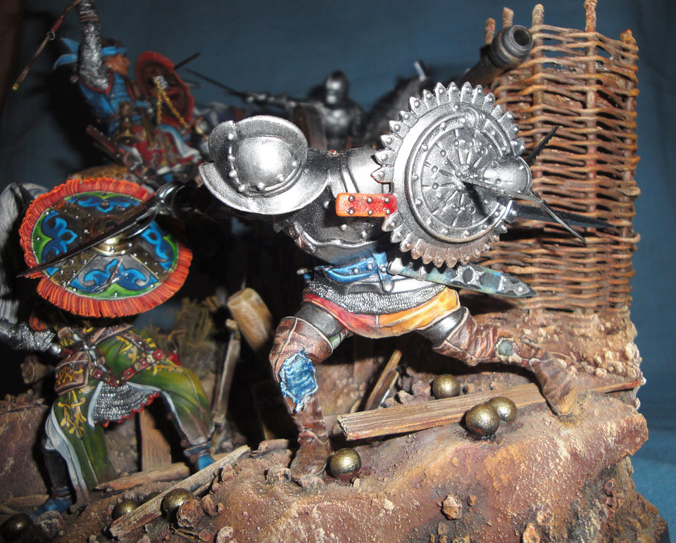 Dioramas and Vignettes: The Battle, 1501, photo #6