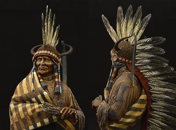 Figures: Jicarilla Apache Chief