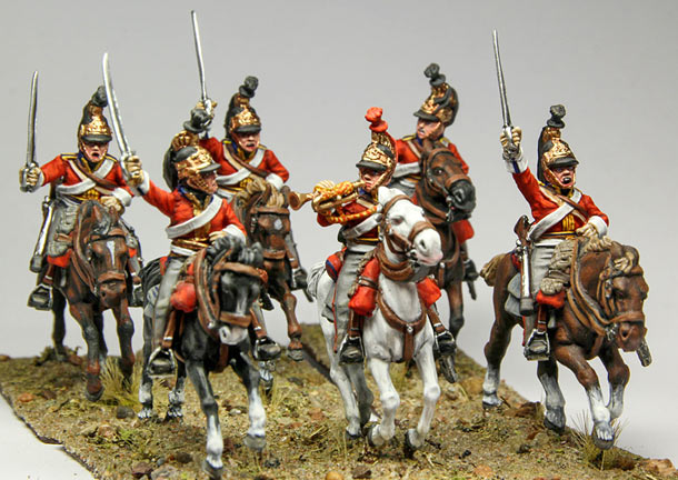 Figures: 1st King's Dragoon Guards. 1815