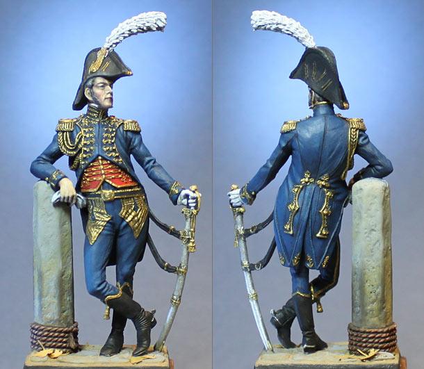 Figures: Naval battalion commander, Emperor's Guard. France, 1809-14