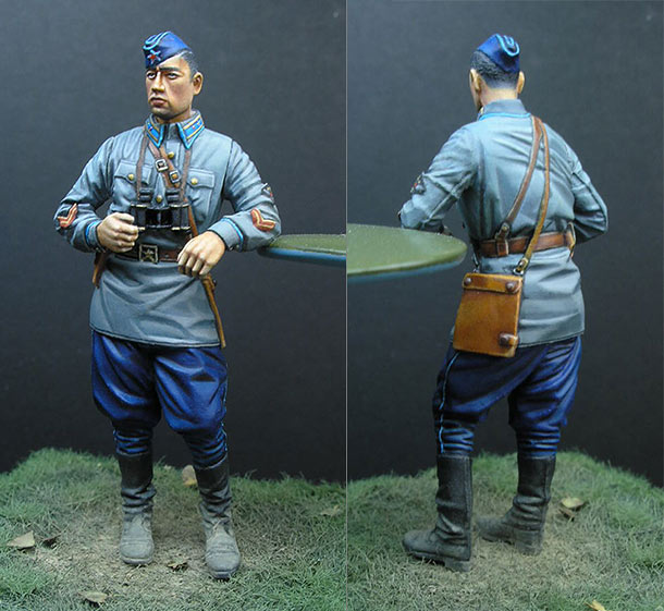 Figures: Captain, Red Army Air Forces, summer 1940