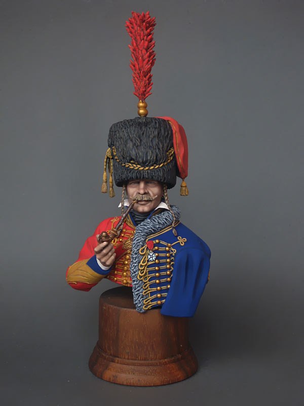Figures: Captain, 6th Hussars regt. 1812, photo #1