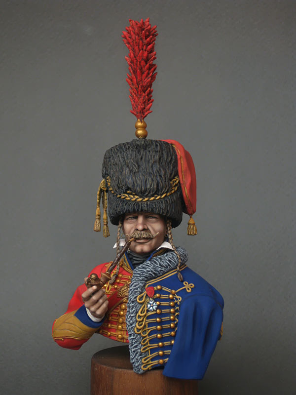 Figures: Captain, 6th Hussars regt. 1812, photo #2