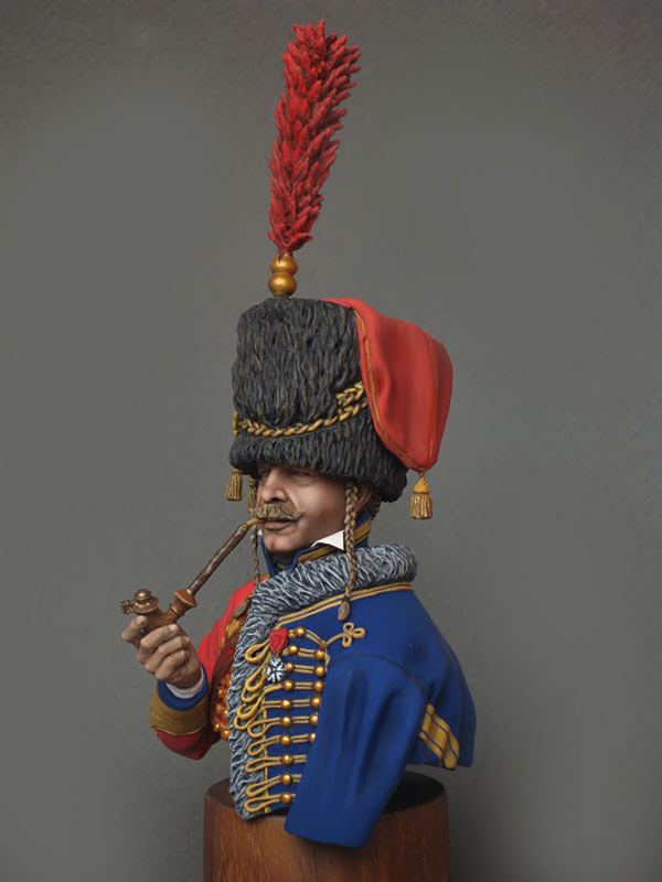 Figures: Captain, 6th Hussars regt. 1812, photo #3