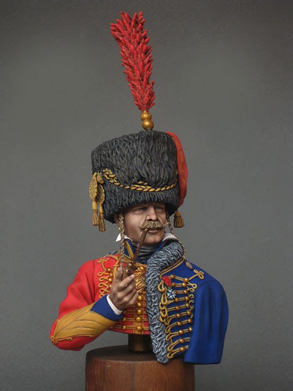 Figures: Captain, 6th Hussars regt. 1812, photo #4