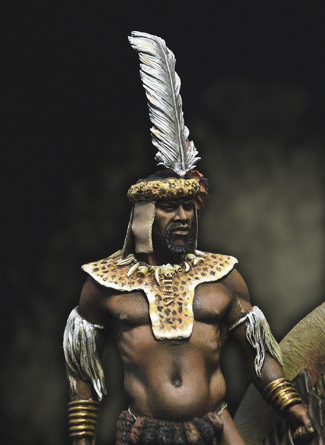 Figures: Zulu warrior, 1879, photo #2