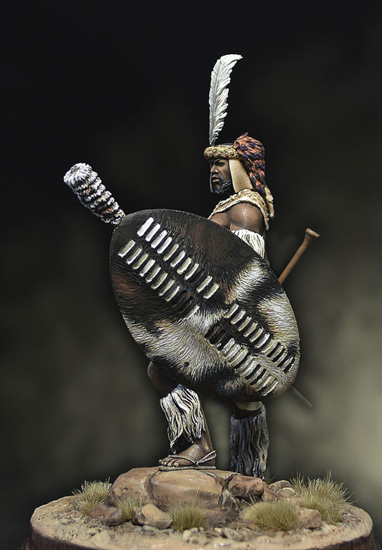 Figures: Zulu warrior, 1879, photo #3