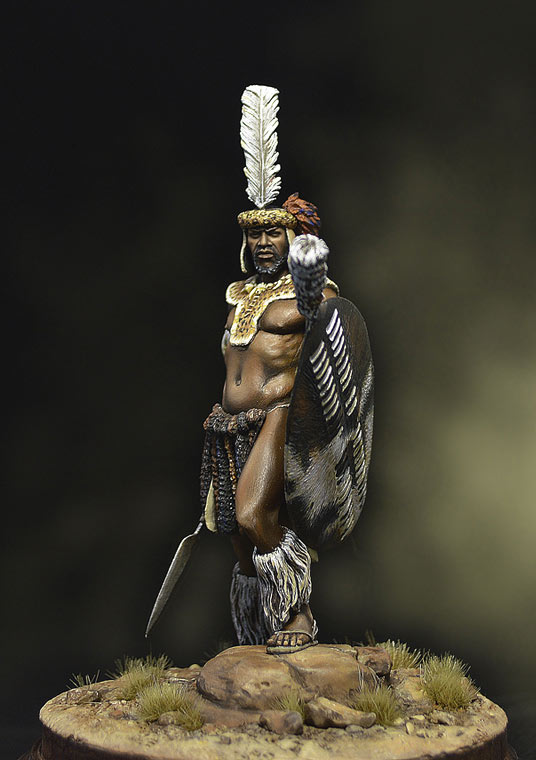 Figures: Zulu warrior, 1879, photo #5