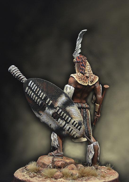 Figures: Zulu warrior, 1879, photo #6