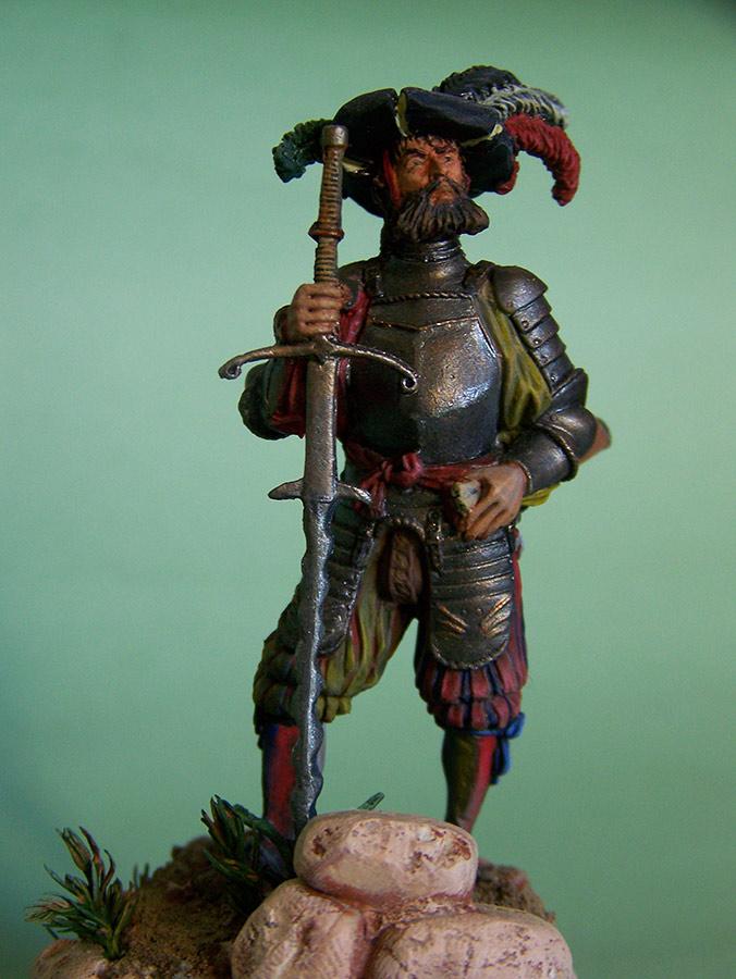 Figures: Landsknecht, 16th century, photo #7