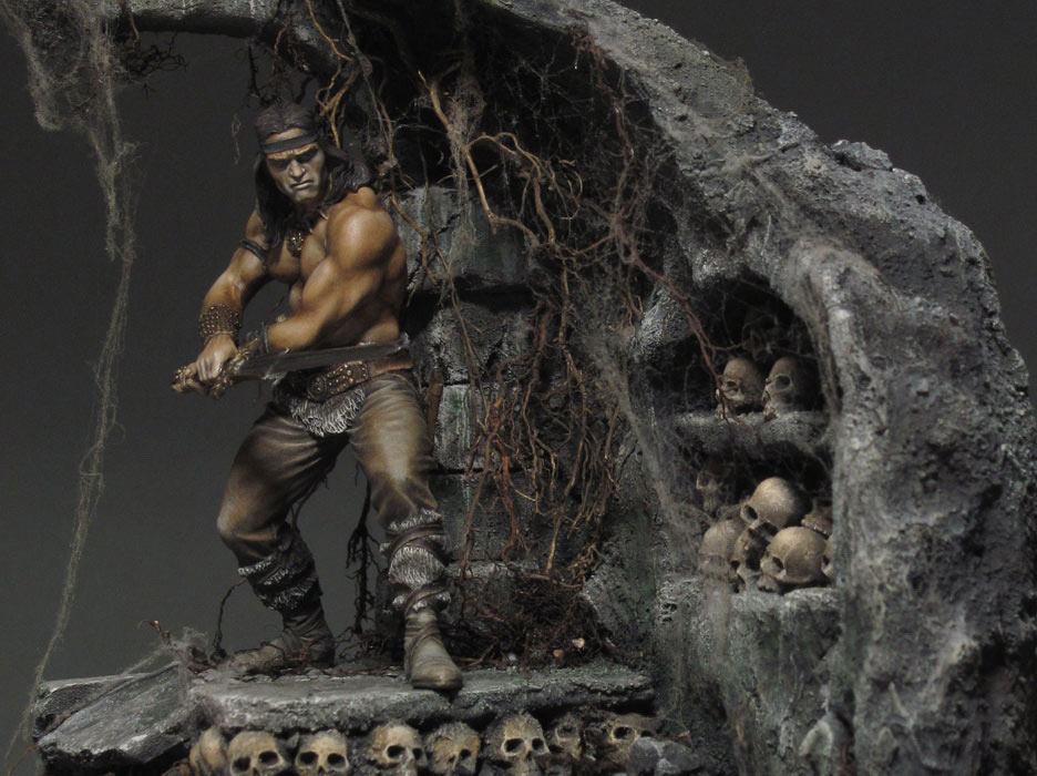 Dioramas and Vignettes: Dungeon of skulls, photo #1