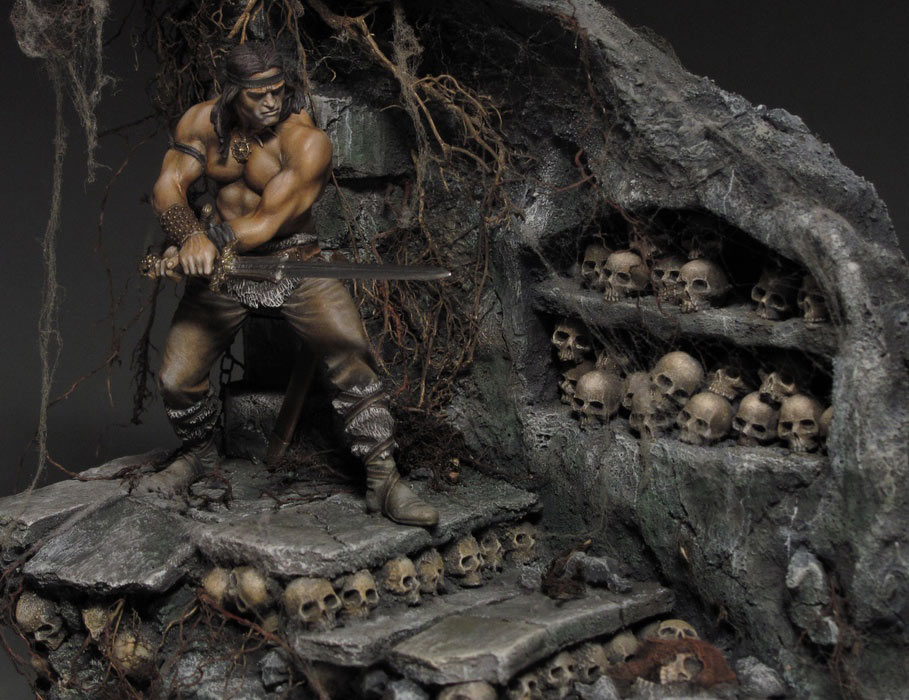 Dioramas and Vignettes: Dungeon of skulls, photo #10