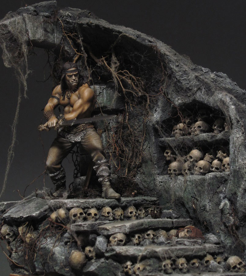 Dioramas and Vignettes: Dungeon of skulls, photo #2