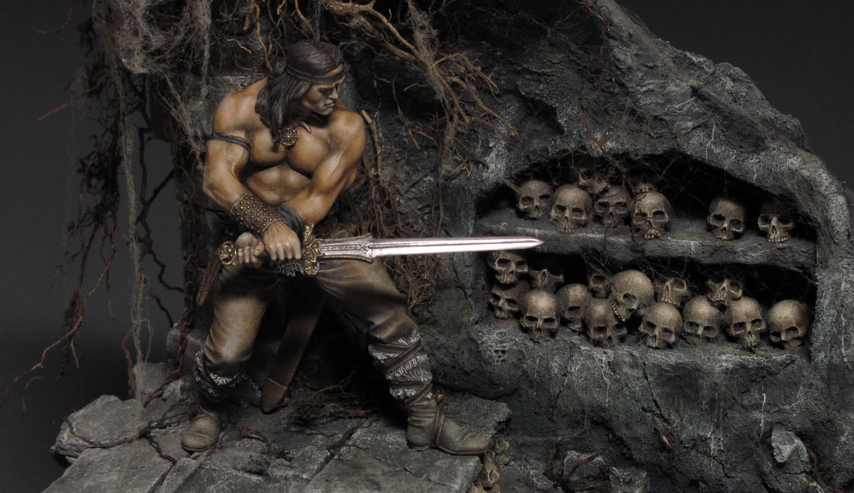 Dioramas and Vignettes: Dungeon of skulls, photo #3