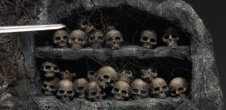 Dioramas and Vignettes: Dungeon of skulls, photo #5