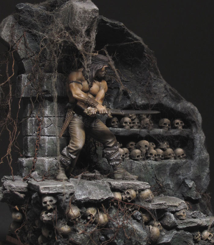 Dioramas and Vignettes: Dungeon of skulls, photo #6
