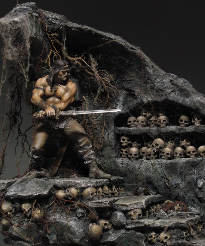 Dioramas and Vignettes: Dungeon of skulls, photo #8