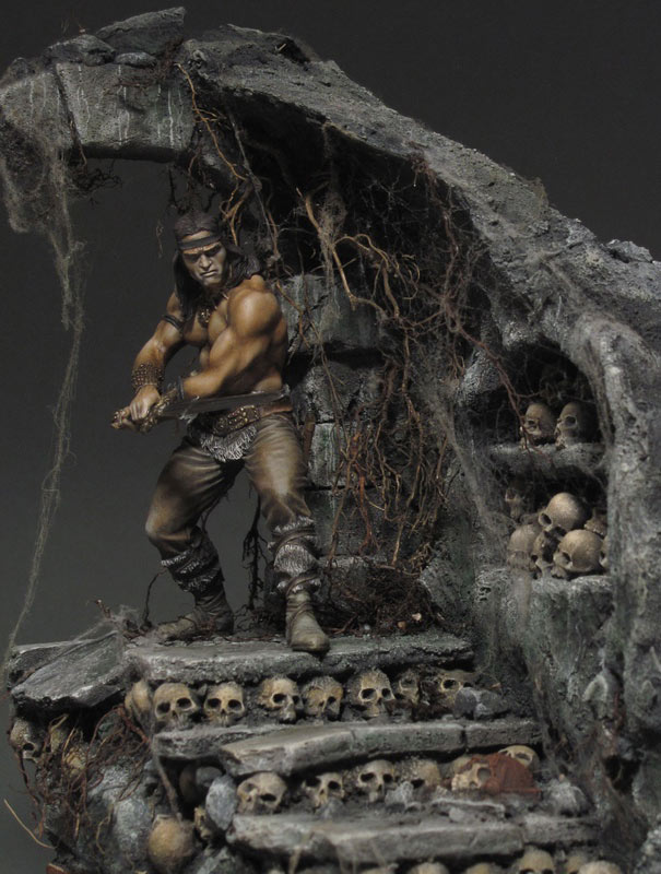 Dioramas and Vignettes: Dungeon of skulls, photo #9