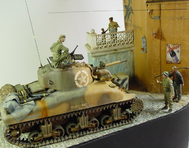 Dioramas and Vignettes: Goodbye Mussolini!