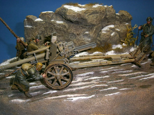 Dioramas and Vignettes: War booty. Eastern Front, 1943