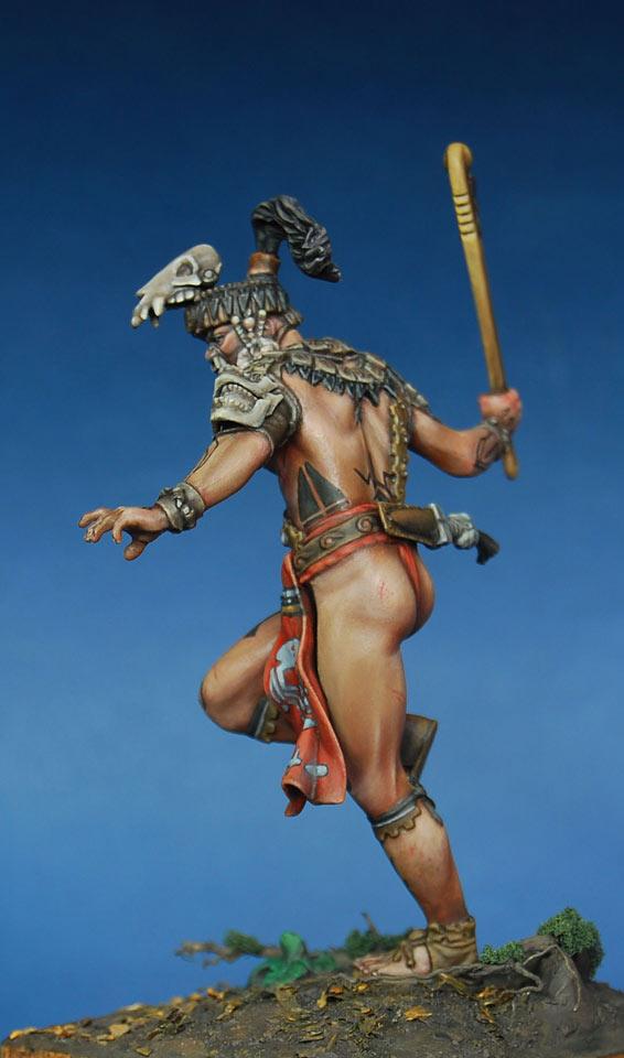 Figures: Mayan warlord, photo #7