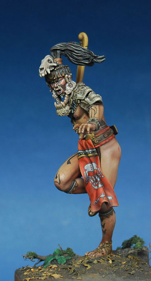 Figures: Mayan warlord, photo #9