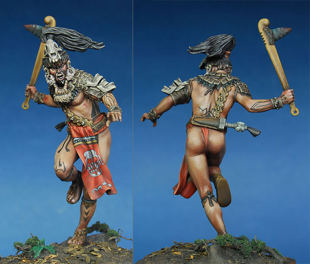 Figures: Mayan warlord