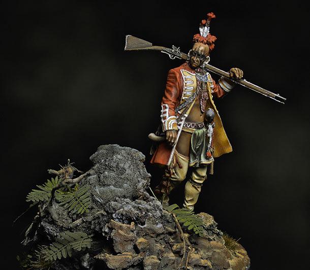 Figures: Iroquois, 1760