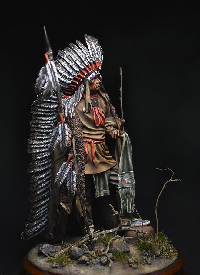 Figures: Washakie Chief, 1860, photo #2