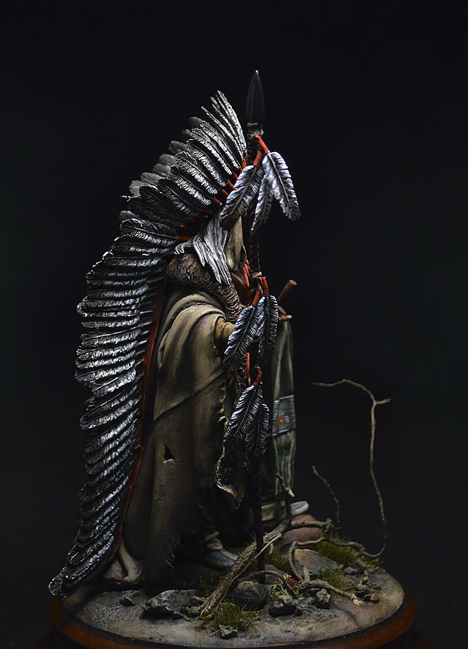 Figures: Washakie Chief, 1860, photo #7
