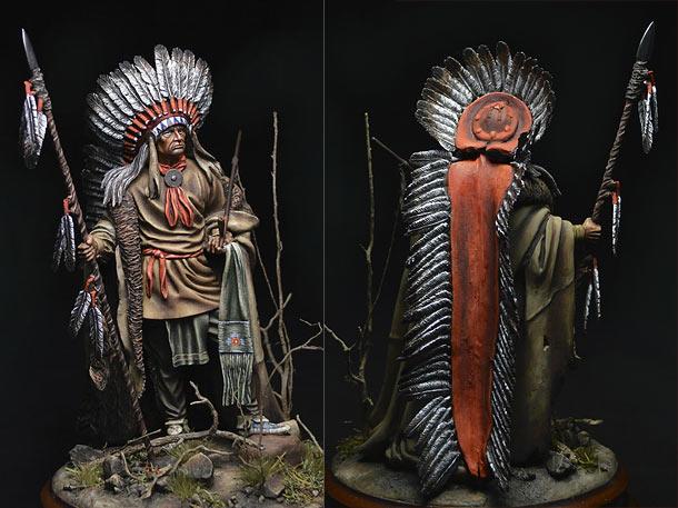 Figures: Washakie Chief, 1860