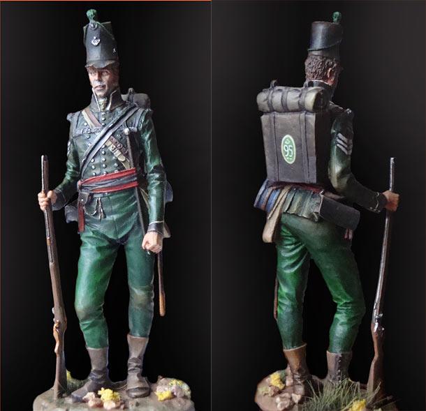 Figures: Sergeant, 95th rifle regt.