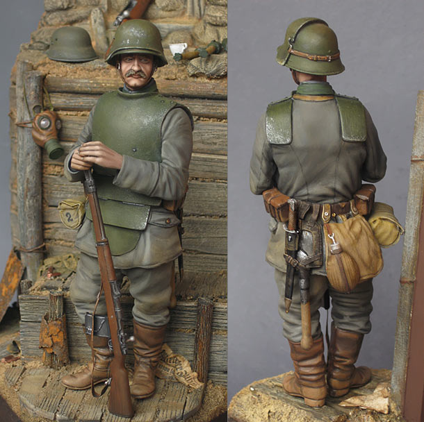 Figures: All Quiet at the Western Front. The Sentry