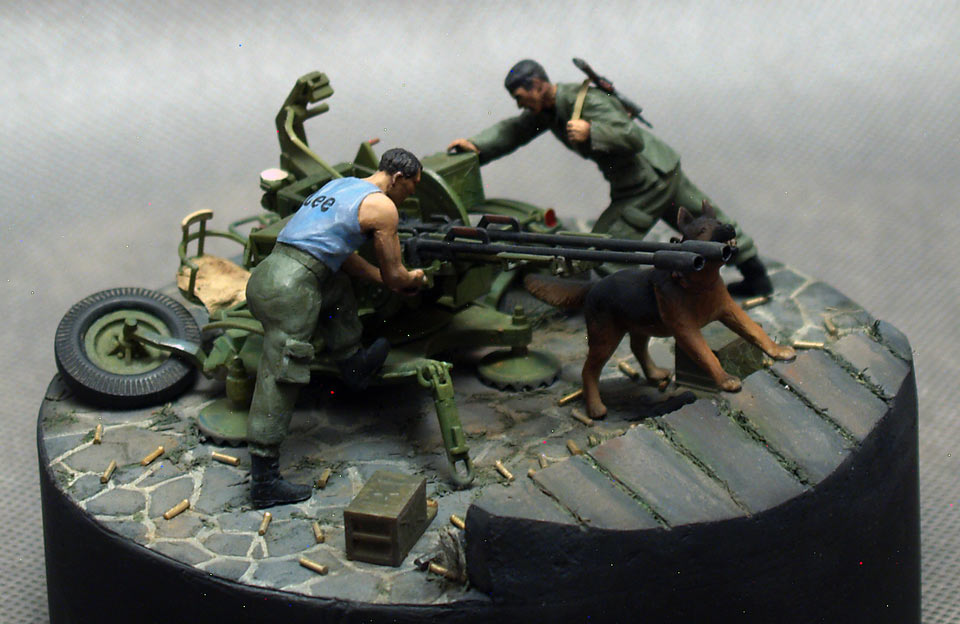 Dioramas and Vignettes: Cubans in Grenada, 1983, photo #1