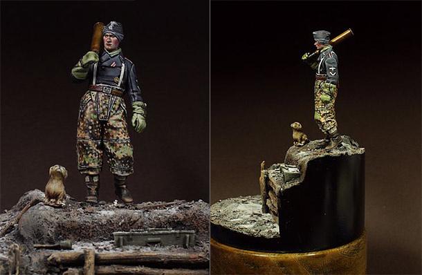 Figures: Before the combat