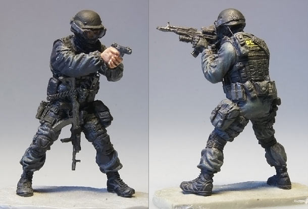 Figures: Modern Russian special forces