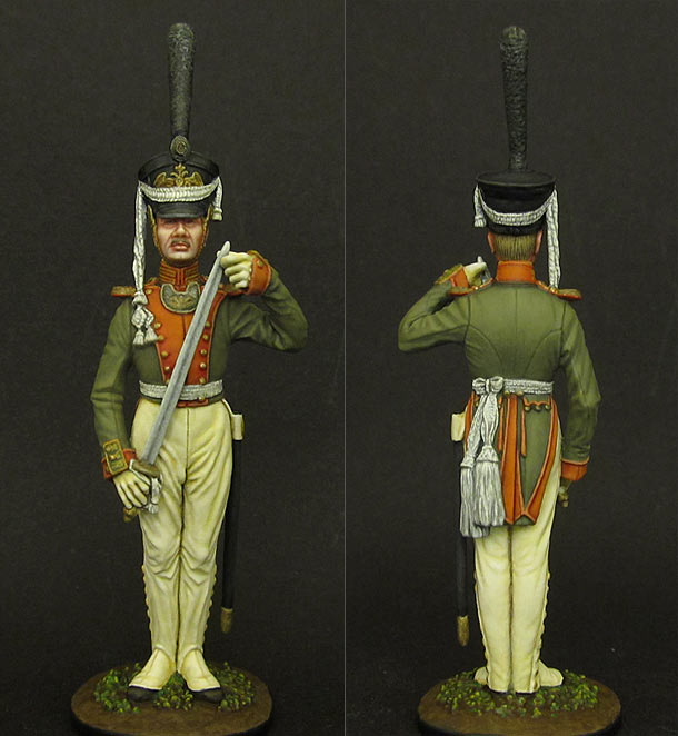 Figures: Subaltern officer, Litovsky regt. of Leib-Guards
