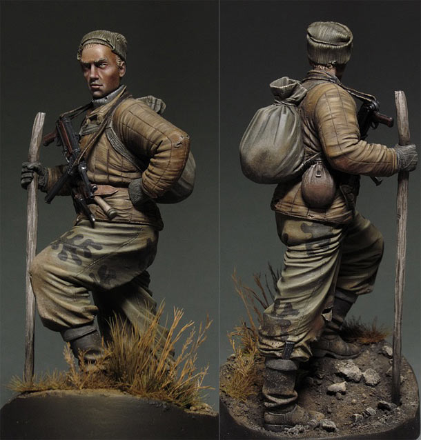 Figures: Red Army scout