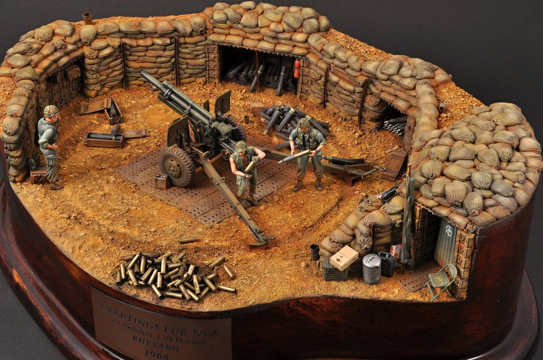 Dioramas and Vignettes: Greetings for NVA, photo #2