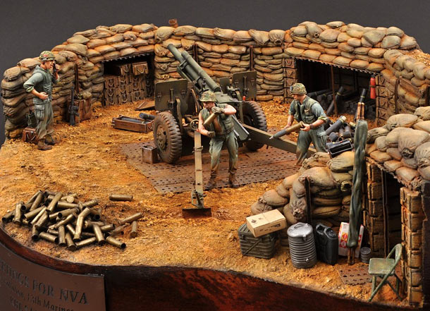 Dioramas and Vignettes: Greetings for NVA