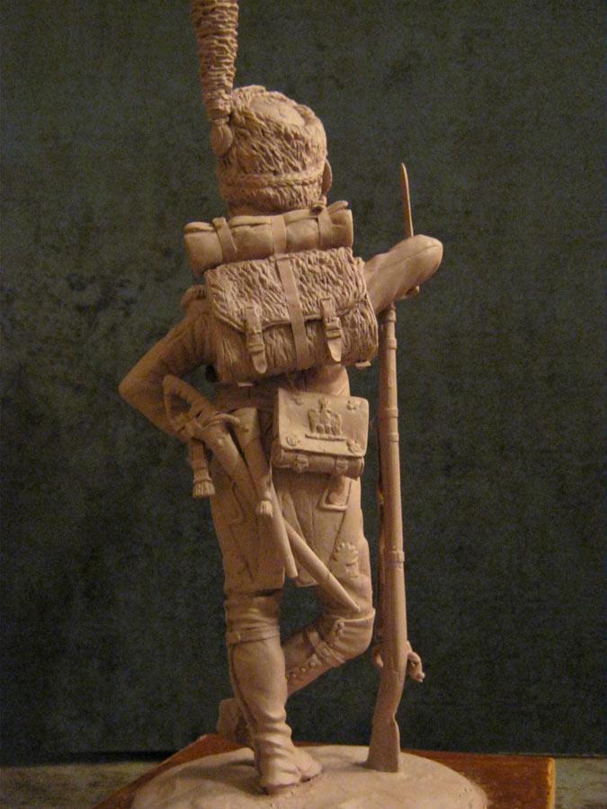 Sculpture: Private, Napoleon's Guard, photo #2